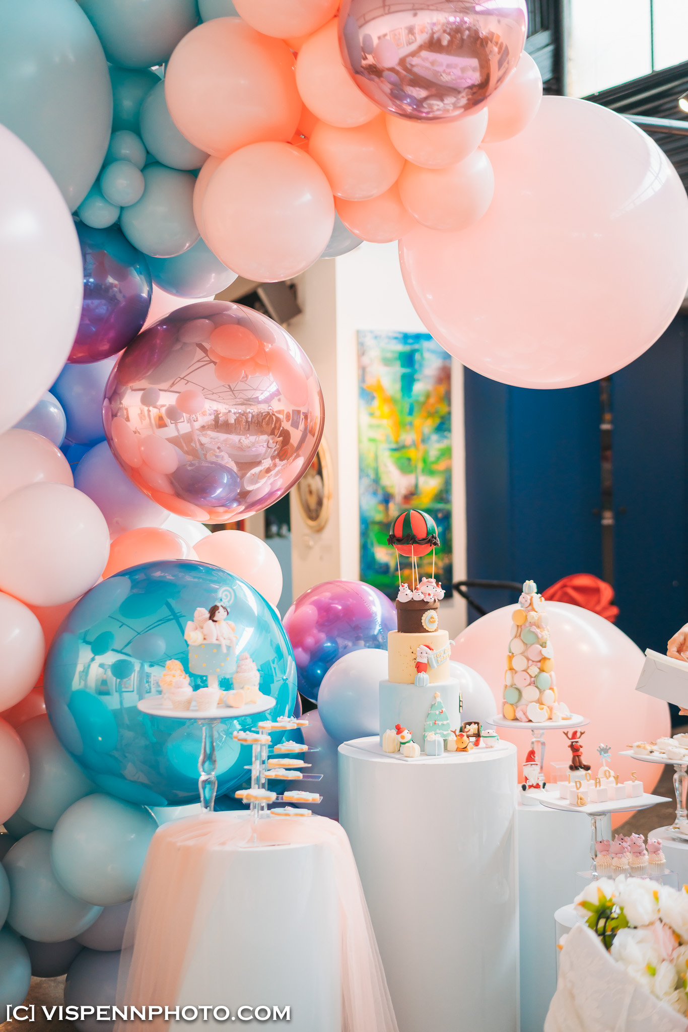 Melbourne Baby Family Birthday Party Photographer 墨尔本 百日宴 满月宴 周岁宴 摄影 VISPENN 100 Days 0123 Sony VISPENN