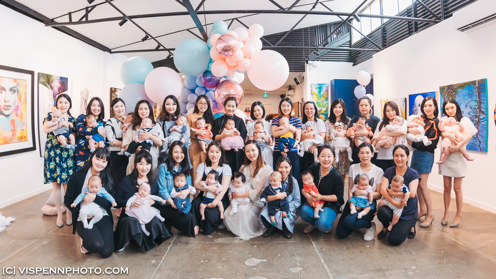 Melbourne Baby Family Birthday Party Photographer 墨尔本 百日宴 满月宴 周岁宴 摄影 VISPENN 100 Days 1608 5D4 VISPENN Edit