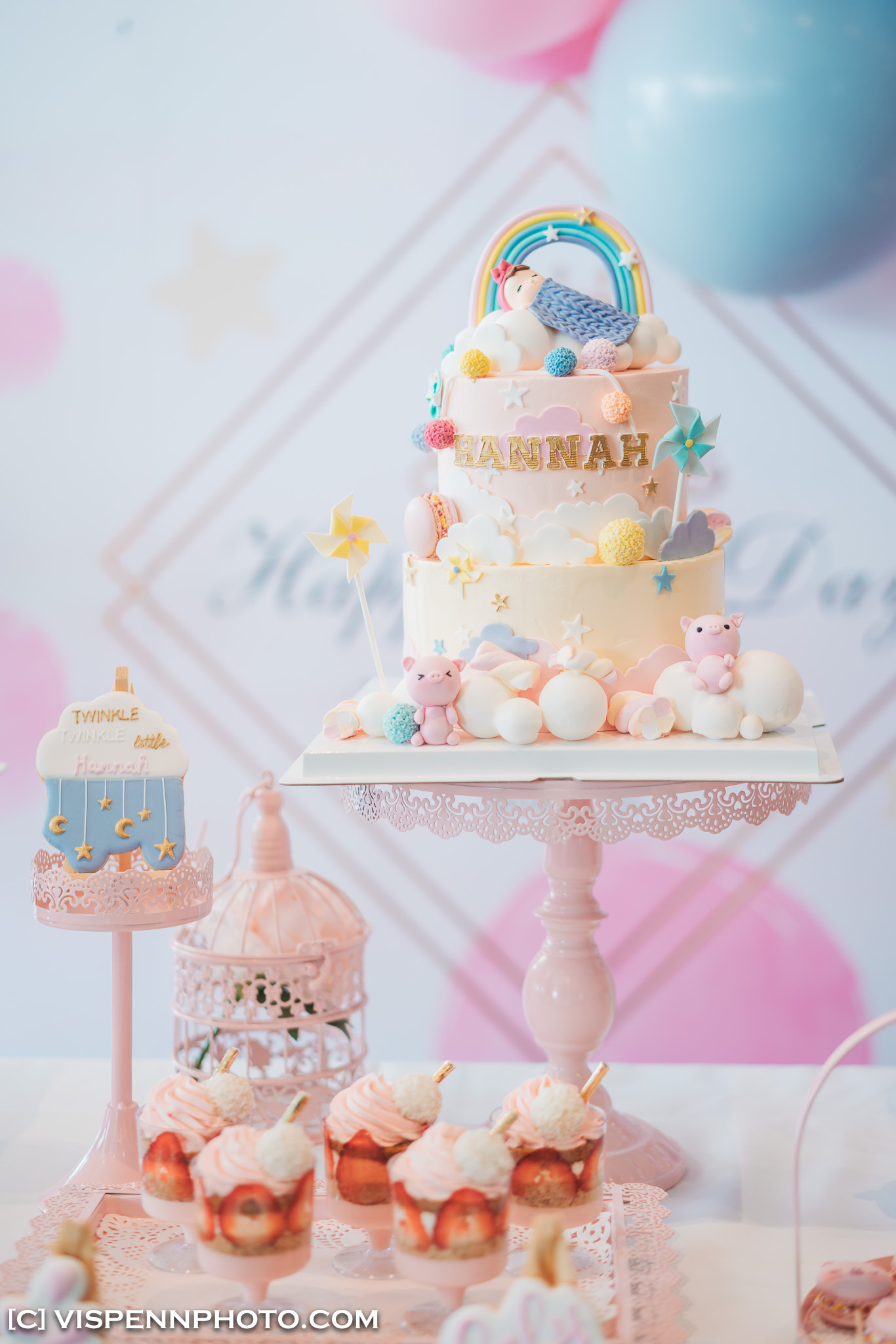 Melbourne Baby Family Birthday Party Photographer 墨尔本 百日宴 满月宴 周岁宴 摄影 VISPENN Gracie 0018 Sony VISPENN