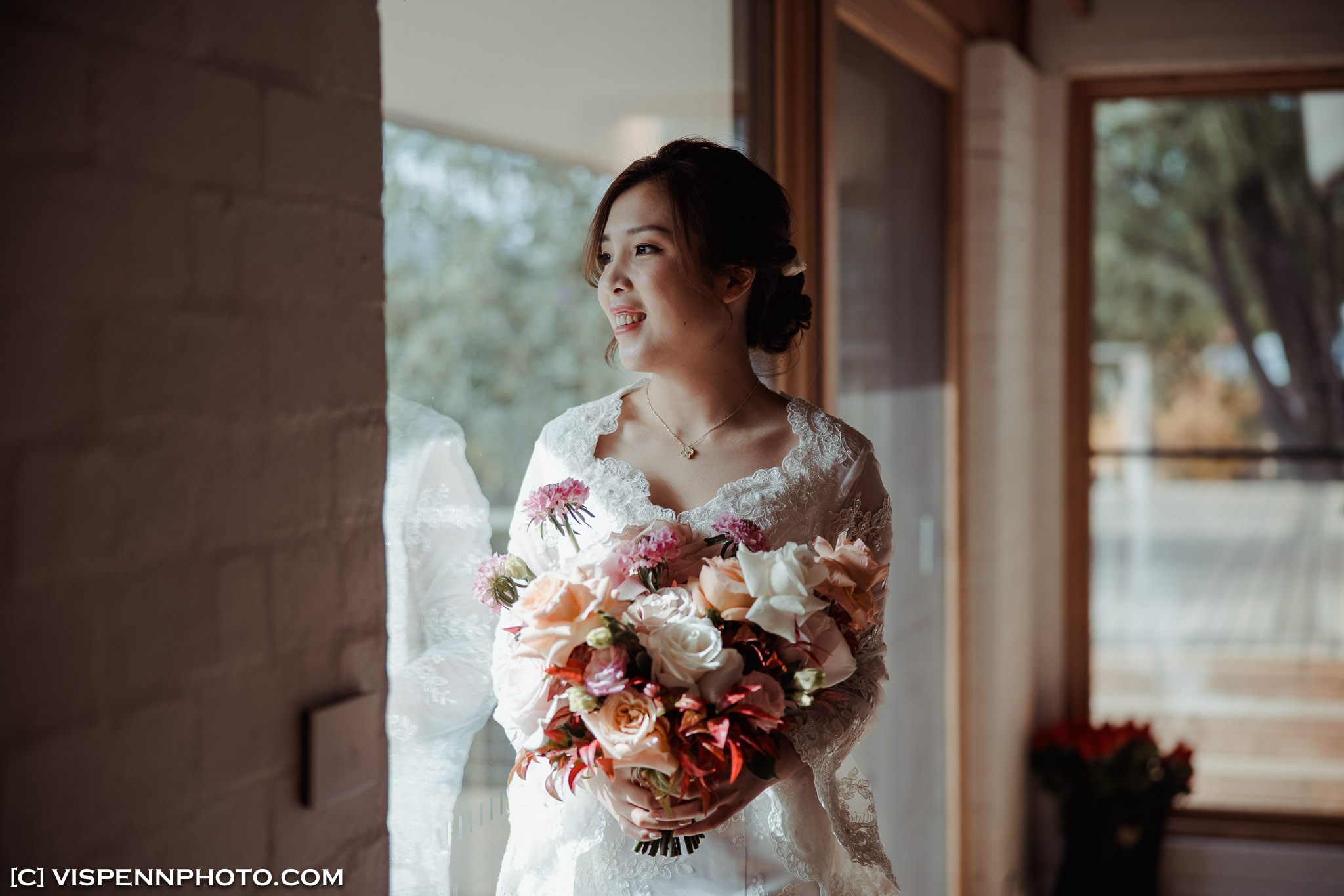 WEDDING DAY Photography Melbourne VISPENN 墨尔本 婚礼跟拍 婚礼摄像 婚礼摄影 结婚照 登记照 DominicHelen 1P 2213 EOSR VISPENN