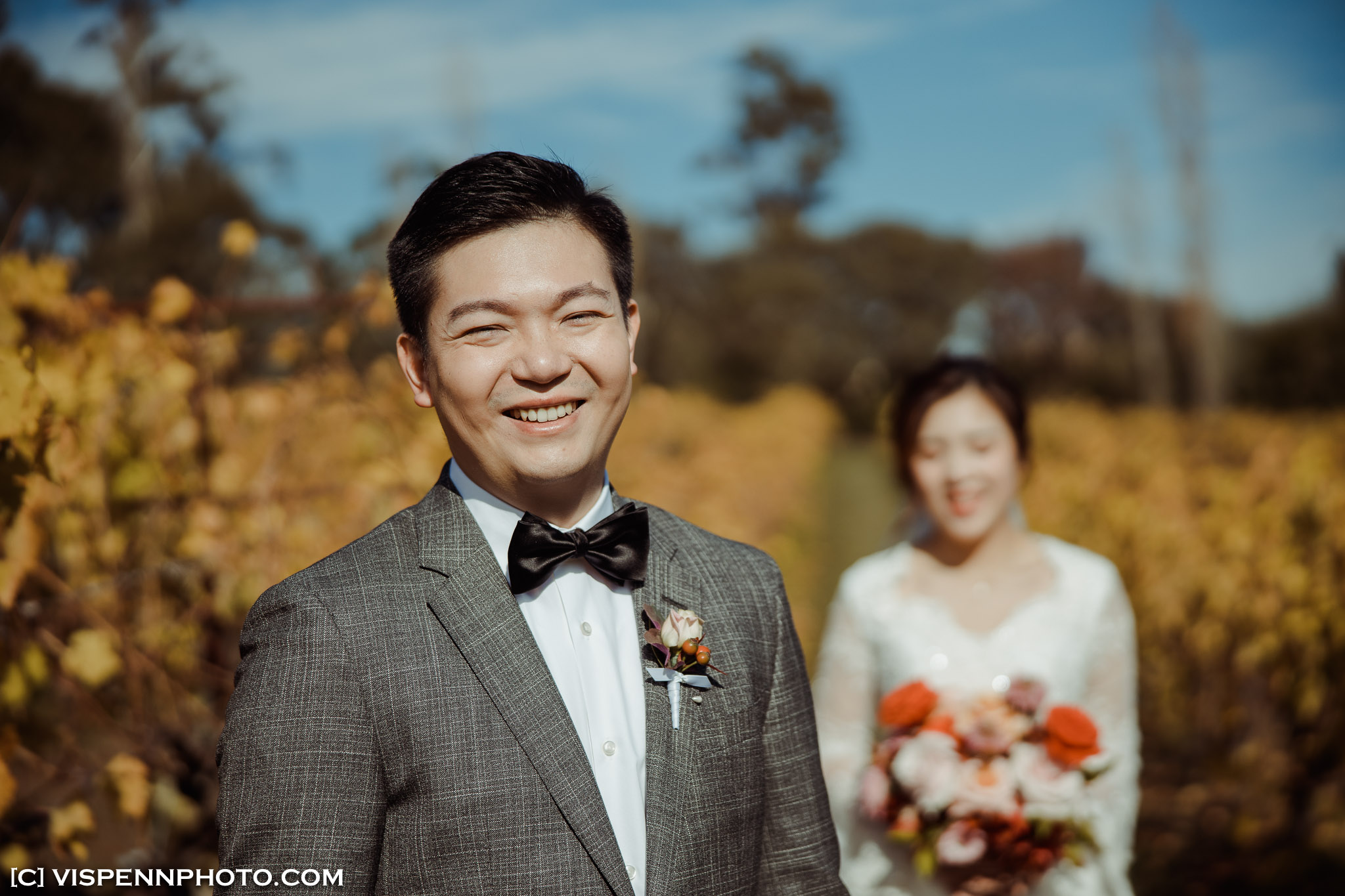 WEDDING DAY Photography Melbourne VISPENN 墨尔本 婚礼跟拍 婚礼摄像 婚礼摄影 结婚照 登记照 DominicHelen 1P 3521 EOSR VISPENN