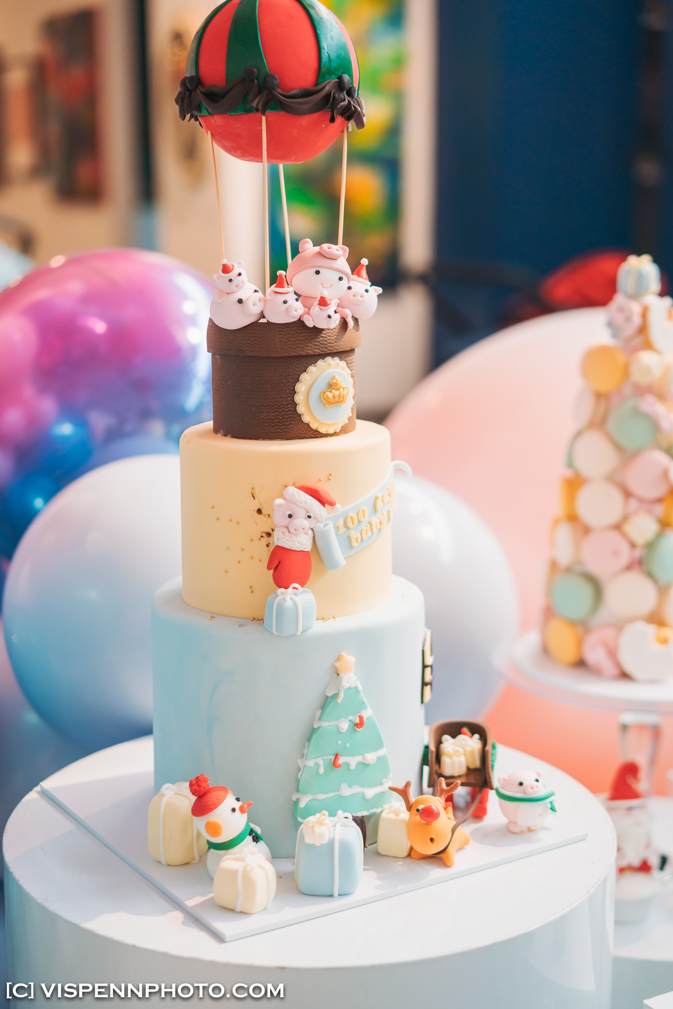 Melbourne Baby Family Birthday Party Photographer 墨尔本 百日宴 满月宴 周岁宴 摄影 VISPENN 100 Days 0120 Sony VISPENN