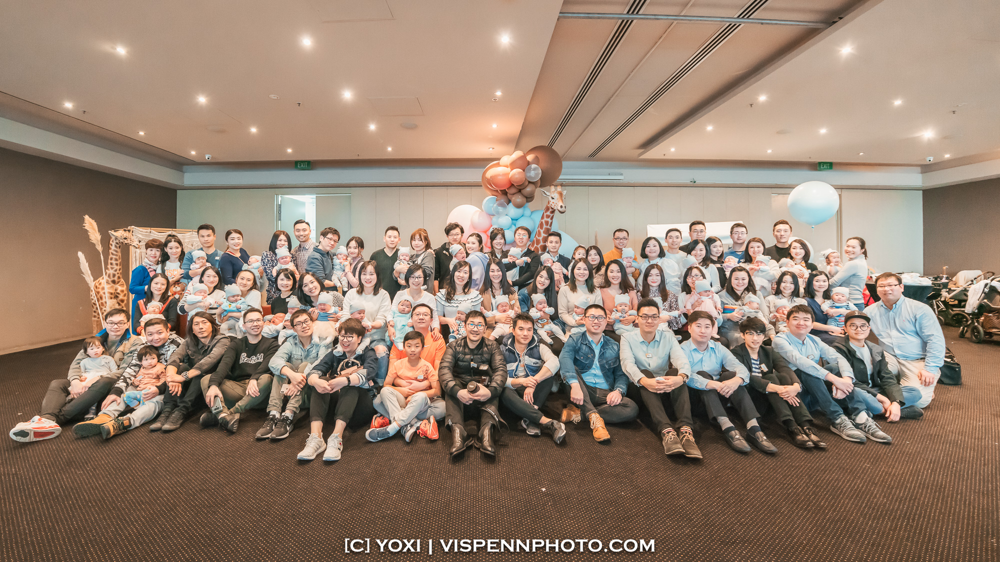 Melbourne Baby Family Birthday Party Photographer 墨尔本 百日宴 满月宴 周岁宴 摄影 VISPENN VISPENN 1177 Edit
