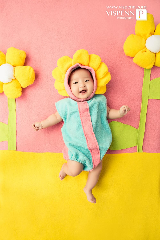 Melbourne Newborn Baby Family Photo BaoBao VISPENN 墨尔本 儿童 宝宝 百天照 满月照 孕妇照 全家福 100DAYS 8997