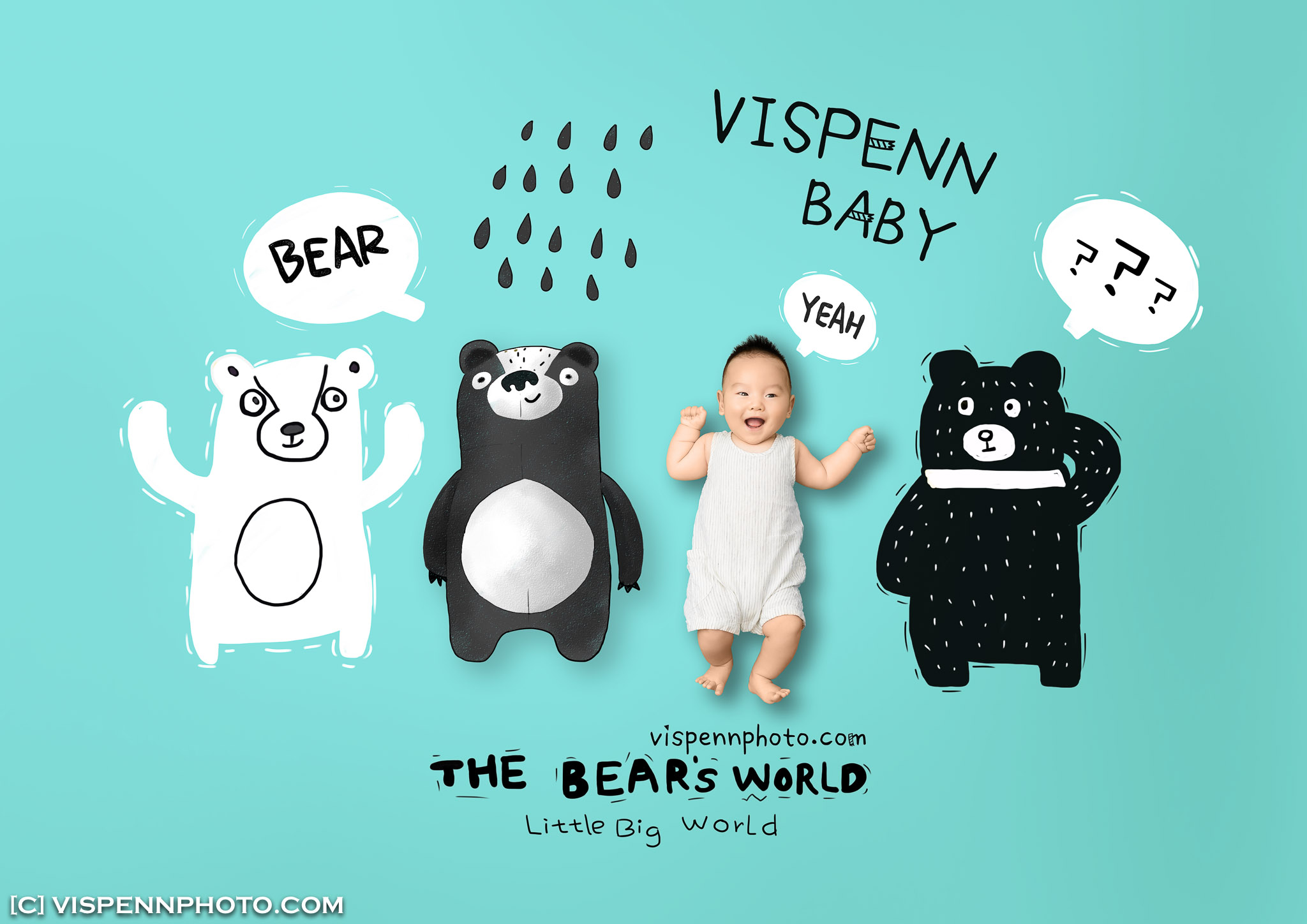 Melbourne Newborn Baby Family Photo BaoBao VISPENN 墨尔本 儿童 宝宝 百天照 满月照 孕妇照 全家福 100DAYS LiLing 1365 VISPENN