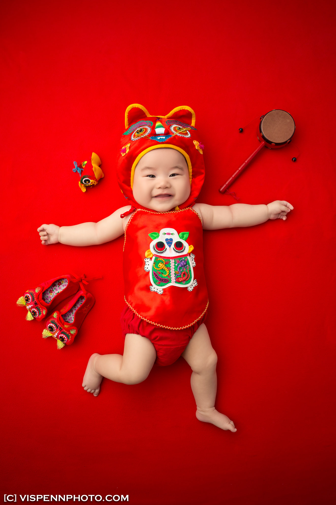 Melbourne Newborn Baby Family Photo BaoBao VISPENN 墨尔本 儿童 宝宝 百天照 满月照 孕妇照 全家福 100DAYS VISPENN RyanYang 1310