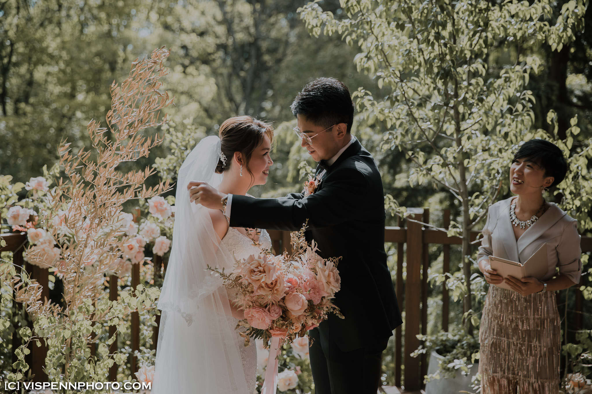 WEDDING DAY Photography Melbourne VISPENN 墨尔本 婚礼跟拍 婚礼摄像 婚礼摄影 结婚照 登记照 ElitaPB 07483 2P 1DX2 VISPENN